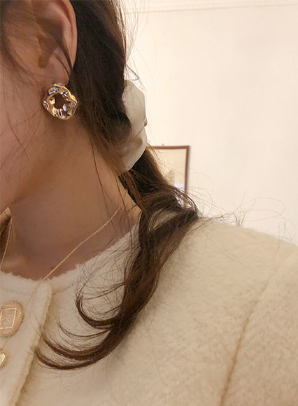 mini ellpe , 618 (earring)